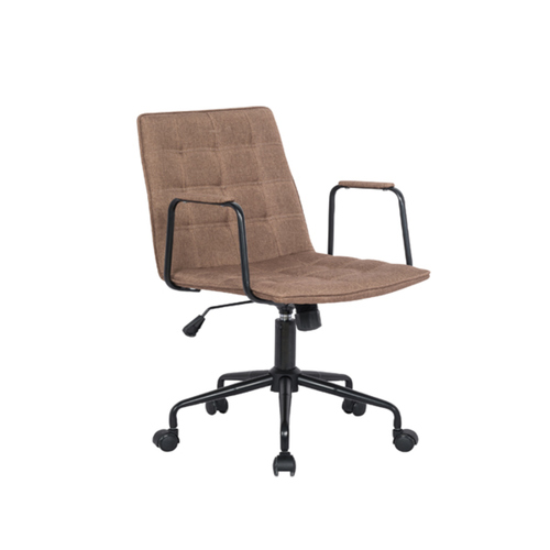 901-A1 Low Back Chair w/o Armrest (Col. Brown)