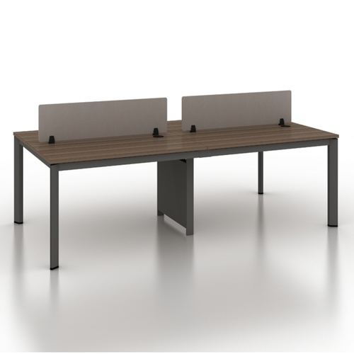 B-One 1.2m Open Concept Workstation Maple
