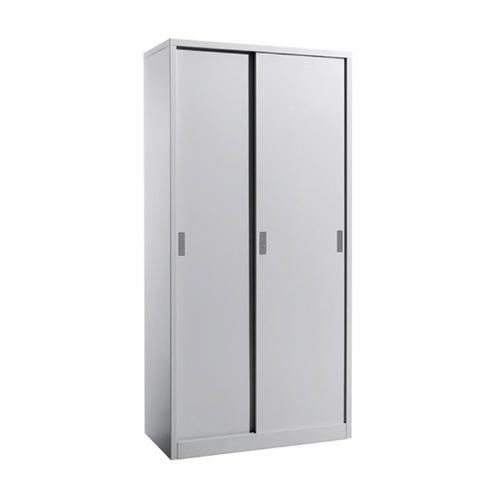 FC-M3 Full Height Sliding Door Cabinet c/w 4 Shelves