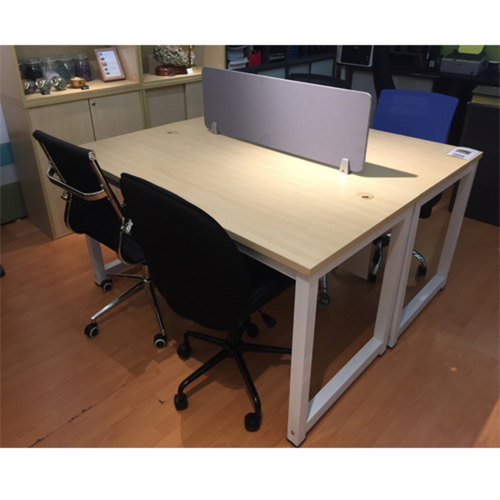 CT Series - 1.5m Open Concept Workstation for 2 Person (Grommet Hole)
