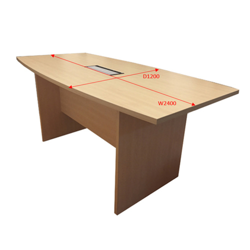 2.4m Conference Table (Maple)
