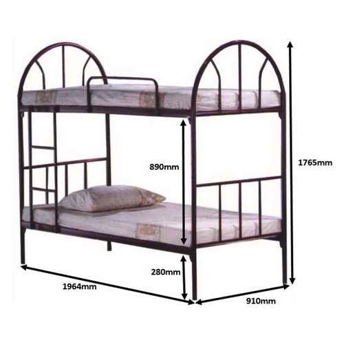 LC600 Double Decker Bed Frame