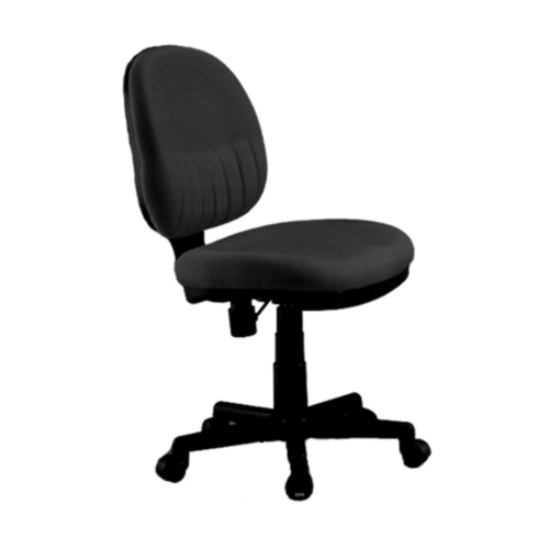 Summer 3878 Typist Chair (Black Fabric)