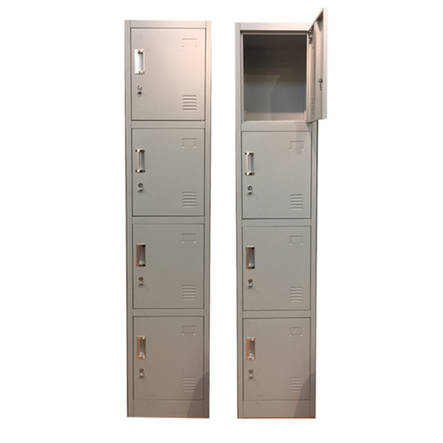 4 Compartment Locker with Latch Lock