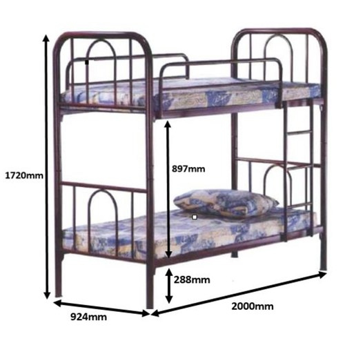 LC605 Double Decker Bed Frame