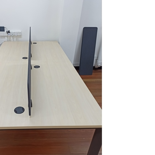 B-One 1.2m Open Concept Workstation (Maple)