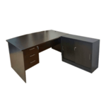 1.8m Director Table Set Walnut