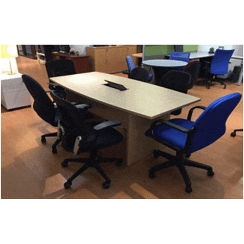 ST1800CT 1.8m Boat Shaped Conference Table