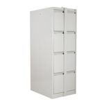 D-D4 4 Drawer Filing Cabinets with Security Bar Anti Tilt Mechanism