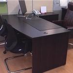 1.8m Director Table Set (Walnut)
