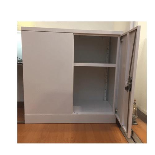 Half Height Swing Door Cabinet 2 Tiers