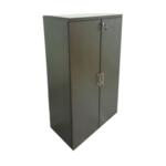Walnut Medium Swing Door Cabinet