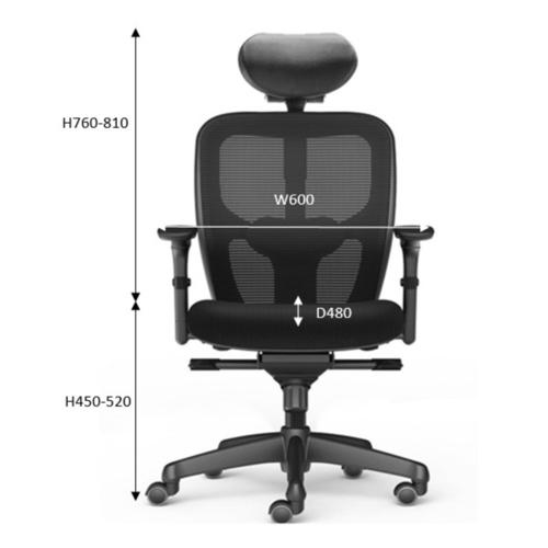 JAZZ Ergonomic Mesh Chair