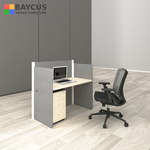 Abby 1.2m Single Workstation with Mobile Pedestal