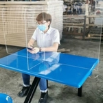 Acrylic Divider for 4 Person