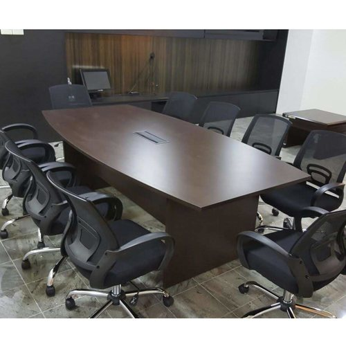 ST2400CT 2.4m Boat Shaped Conference Table
