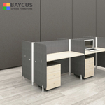 Abby 1.2m 4 Pax Office Cubicles with Mobile Pedestal