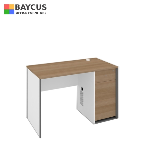 B-One Series 1.2m Standalone Desk with CPU Cabinet