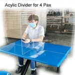 Acrylic Divider (Sneeze Protector) for 6 Person