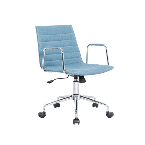 901-B1 Low Back Chair w/o Armrest  (Col. Blue)