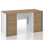 B-One Series 1.4m Standalone Desk with Drawers