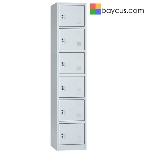 LB6 6 Compartment Lockers