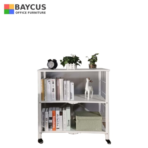 BW-R1 Foldable Storage Rack (White)