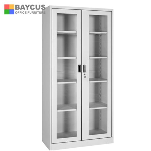 FC-G5 Full Height Glass Swing Door Cabinet