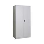 UW-18 Full Height Metal Swing Door Cabinet Grey