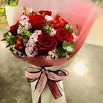 6 Kenya Roses Valentine Bouquet