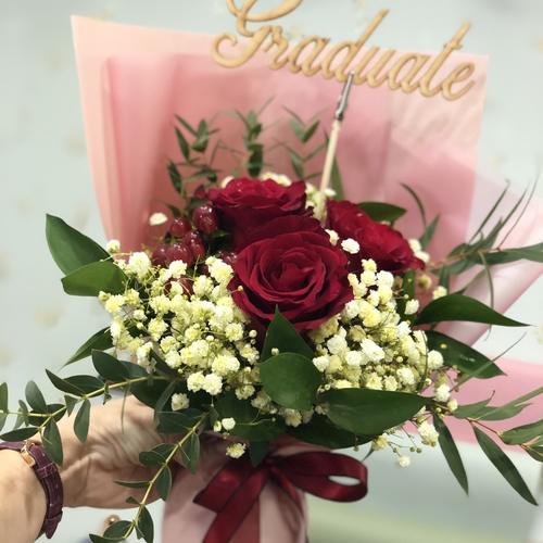 Graduation Rose-Blooms