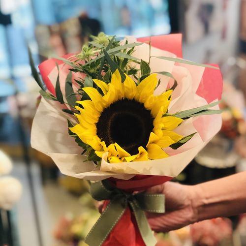 Graduation Sunflower-Bloom