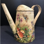 Hand-painted Watering Can