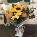 Sunflowers Mingle