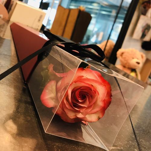 Graduation Rose-in-a-box