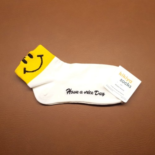 Have A Nice Day Sock