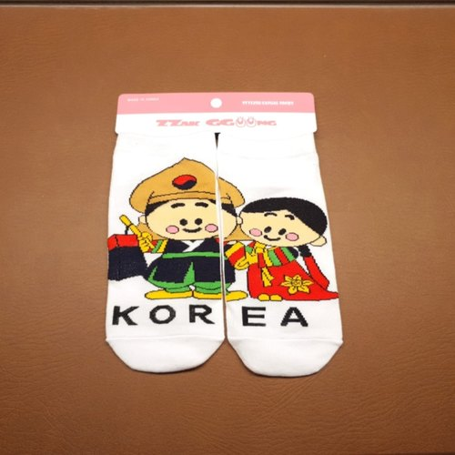Korean Couple Sock
