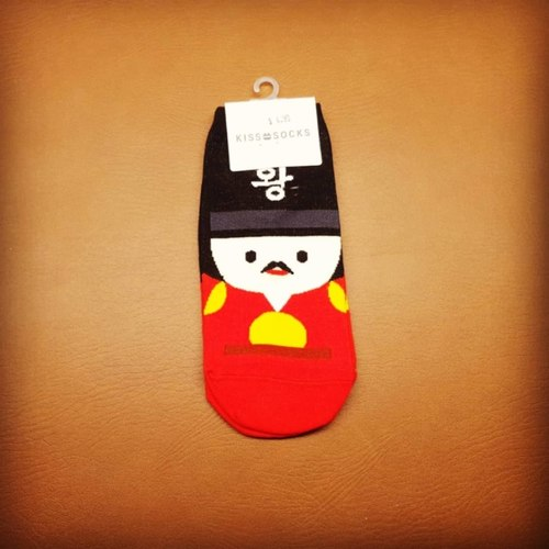 Korea Male Character Sock
