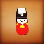Korea Male Character Sock