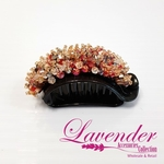 Colorful Red Diamond Hair Clip