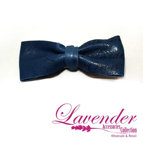 Blue Fashion Ribbon Hair Clip