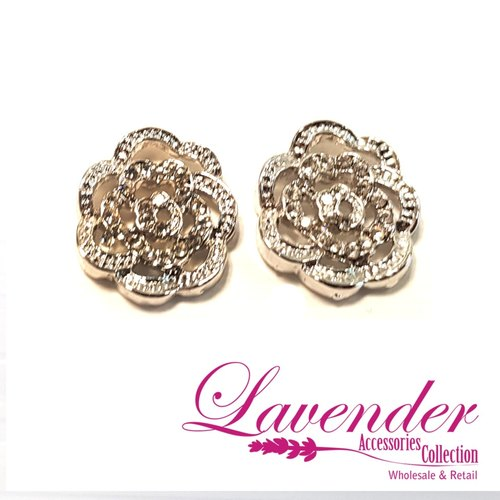 Shining Flower Earring