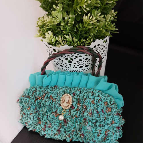 Korean Flower Hand Bag
