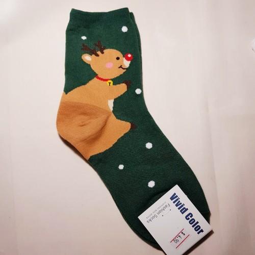 Christmas Reindeer Sock