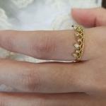 gold crown rings