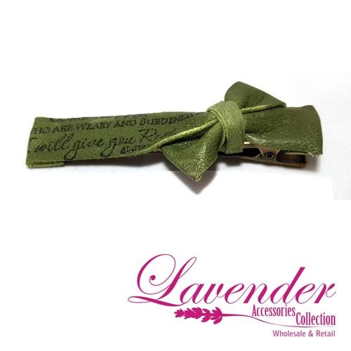 Green Style Hair Clip