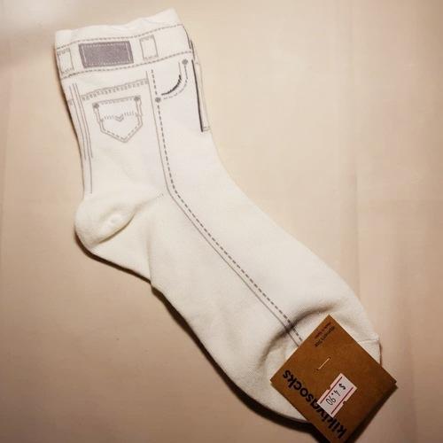 Jean Pattern Socks
