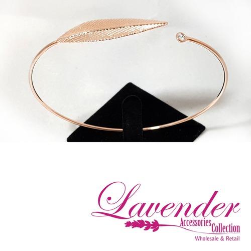 Rose Gold Leave Bracelet