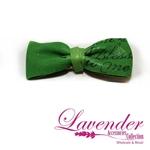 Green Fashion Ribbon Hair Clip