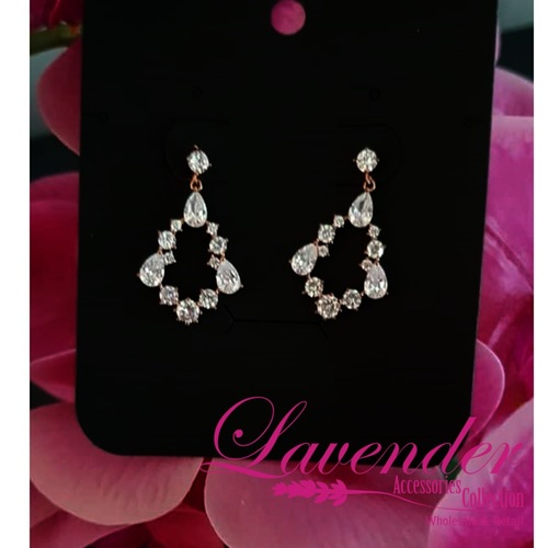 Shining Diamond Earring